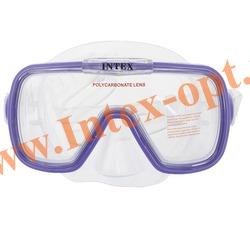 INTEX 55976 Маска для плавания Wave Rider Masks (от 8 лет)фиолетовая
