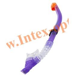 INTEX 55928 Трубка для плавания Easy-Flow Snorkels (от 8 лет)фиолетовая