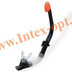 INTEX 55928 Трубка для плавания Easy-Flow Snorkels (от 8 лет)черная