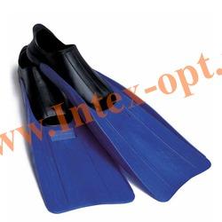 INTEX 55933 Ласты для плавания Small Super Sport Fins (размер 35-37)синие