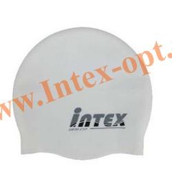 INTEX 58680 Шапочка для плавания (от 8 лет)белая
