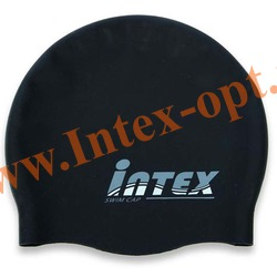 INTEX 58680 Шапочка для плавания (от 8 лет)черная