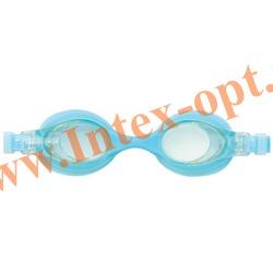 INTEX 55693 Очки для плавания Pro Team Goggles (от 3 до 8 лет)голубые