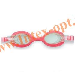 INTEX 55693 Очки для плавания Pro Team Goggles (от 3 до 8 лет)розовые