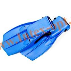 INTEX 55932 Ласты для плавания Large Swim Fins (размер 41-45)синие