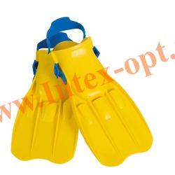 INTEX 55930 Ласты для плавания Small Swim Fins (размер 35-37)жёлтые