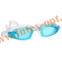 INTEX 55682 Очки для плавания Free Style Sport Goggles (от 8 лет)голубые