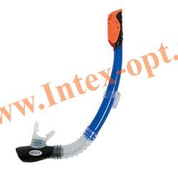 INTEX 55924 Трубка для плавания Hyper-Flo Sr. Snorkels (от 8 лет)
