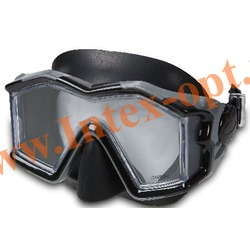 INTEX 55982 Маска для плавания Silicone Explorer Pro Masks (от 14 лет)серая