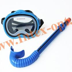 INTEX 55942 Маска и трубка для плавания Adventurer Swim Set (от 8 лет)
