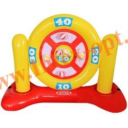 INTEX 56509 Надувной дартс для игр на воде Ball-Dartz Game 140х58х99 см(от 6 лет)