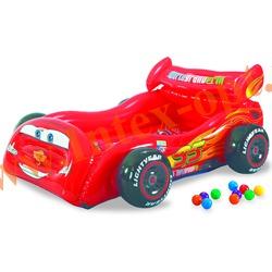 INTEX 48667 Детский надувной игровой центр Тачки 180х145х71 см(без насоса)
