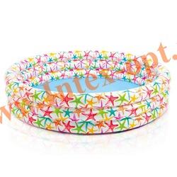 INTEX 56440 Надувной детский бассейн Realistic Starfish Pool 168х38 см(от 2 лет)