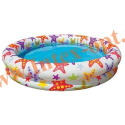 INTEX 59421 Надувной детский бассейн Stargaze Pool 122х25 см(от 2 лет)