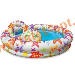 INTEX 59460 Надувной детский бассейн с мячом и кругом Stargaze Pool Set 122х25 см(от 2 лет)