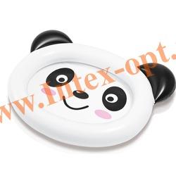INTEX 59407 Надувной детский бассейн Панда Smiling Panda Baby Pool 117х89х14 см(от 1 до 3 лет)