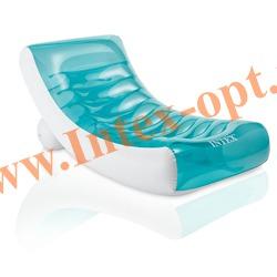 INTEX 58856 Надувное кресло-шезлонг Rockin Lounge 188х99 см(без насоса)