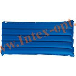 INTEX 59196 Надувной матрас для плавания Canvas Surf Rider (152 х 74 см) без насоса