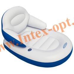INTEX 58864 Матрас-кресло надувное для плавания Comfy Cool Lounge (173 х 117 см)без насоса