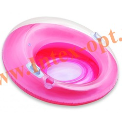 INTEX 58883 Надувной круг для плавания с сетчатым дном и ручками Sit n Lounge Ø 119 см(от 8 лет)без насоса
