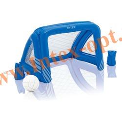 INTEX 58507 Надувные ворота для игр на воде и газоне Fun Goals Game 140х89х81 см(от 6 лет)без насоса