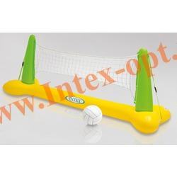 INTEX 56508 Надувной волейбол для игр на воде Pool Volleyball Game 239х64х91 см(от 6 лет)без насоса