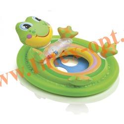 INTEX 59570 Надувной круг с трусиками лягушонок See Me Sit Pool Rider 71х58 см (от 3 до 4 лет)без насоса
