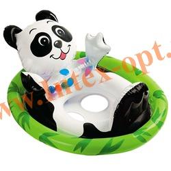 INTEX 59570 Надувной круг с трусиками панда See Me Sit Pool Rider 77х58 см (от 3 до 4 лет)без насоса