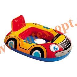 INTEX 59586 Надувной круг с трусиками машинка Kiddie Floats 72х55 см(от 1 года)без насоса