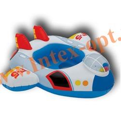 INTEX 59586 Надувной круг с трусиками самолётик Kiddie Floats 81х72 см(от 1 года)без насоса