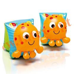 INTEX 56654 Нарукавники надувные для плавания Lil Octopus Arm Bands 23х17 см(от 3 до 6 лет)