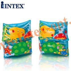 INTEX 59650 Нарукавники надувные для плавания Sea Buddy Arm Bands 19х19 см(от 3 до 6 лет)