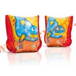INTEX 56659 Нарукавники надувные для плавания Aqua Arm Bands 23х18 см(от 3 до 6 лет)