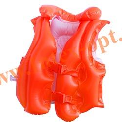 INTEX 58671 Жилет надувной для плавания Deluxe Swim Vest 50х47 см(от 3 до 6 лет)