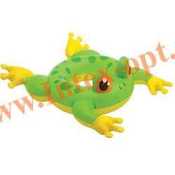 INTEX 58221 Круг надувной для плавания лягушка Big Animal Rings 89х69 см(от 3 до 6 лет)