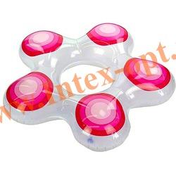 INTEX 59248 Круг надувной для плавания Звезда Star Rings 74х71 см(от 3 до 6 лет)