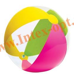 INTEX 59032 Надувной мяч Paradise Balls Ø 61 см(от 3 лет)без насоса