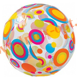 INTEX 59040 Надувной мяч Lively Print Balls Ø 51 см(от 3 лет)без насоса