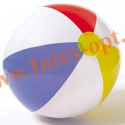 INTEX 59020 Надувной мяч Glossy Panel Ball Ø 51 см(от 3 лет)без насоса
