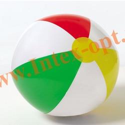 INTEX 59010 Надувной мяч Glossy Panel Ball Ø 41 см(от 3 лет)без насоса