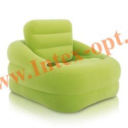 INTEX 68586 Надувное кресло ACCENT CHAIR 97х107х71см (лайм)