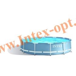 INTEX 28710 Бассейн каркасный круглый 366х76 см