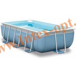INTEX 28314 Бассейн каркасный прямоугольный 300х175х80 см (видео, фильтр-насос 220В, лестница)