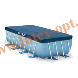 INTEX 28037 Тент для каркасного прямоугольного бассейна 389х184 см