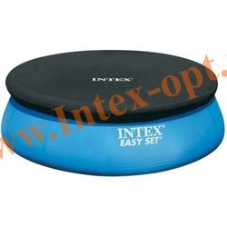 INTEX 28026 Тент для круглого бассейна с надувным кольцом 396 см