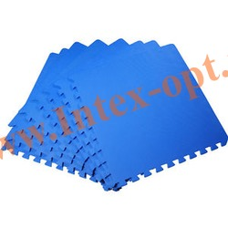 INTEX 29081 Подстилка-пазл для бассейна 50х50х1 см