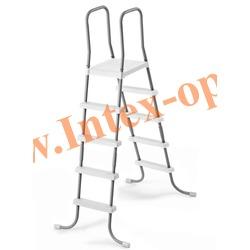 INTEX 28059 Лестница для бассейна 132 см (с площадкой)